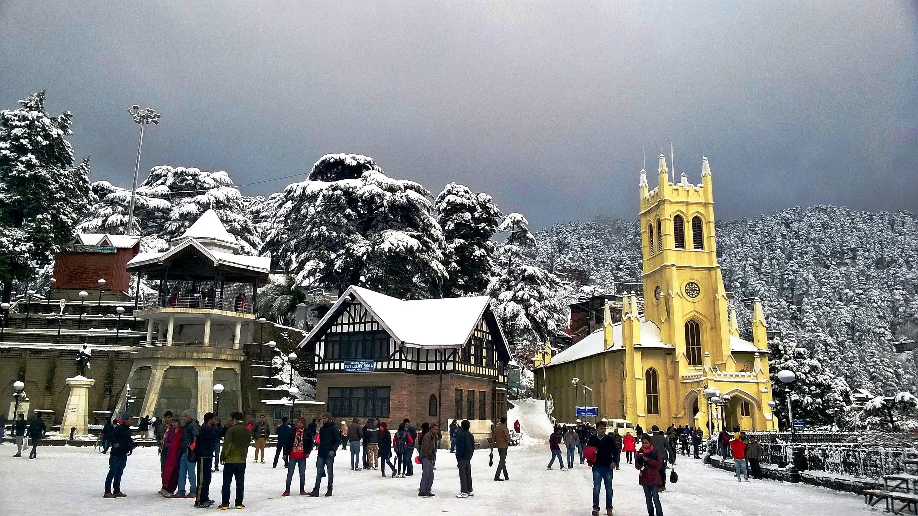 Shimla Manali 7N/8D package from Chandigarh